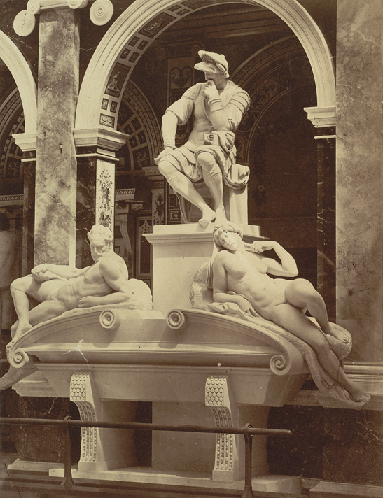 Monument To Lorenzo De Medici, With Figures Of Twilight And Dawn, By Michael Angelo